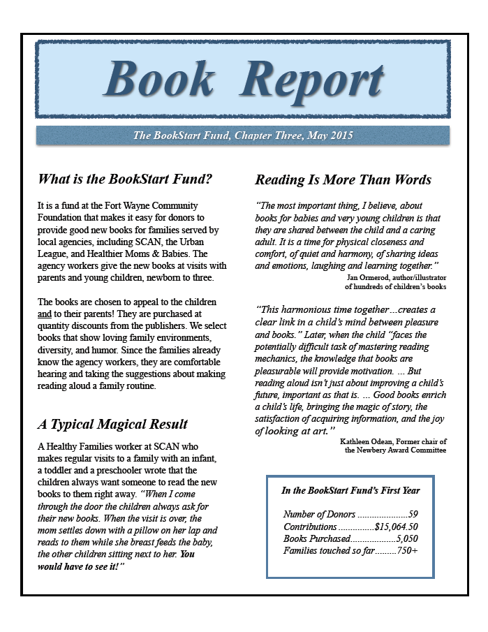 newsletter book report Customized newsletters connect you directly to readers with 20 years of  included in this is your first newsletter, which we'll build, review content, copy edit, and send  2018 by the book report, inc all rights reserved scroll back to top.